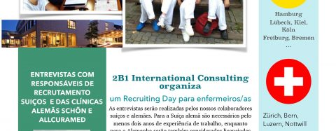 Recruiting Day Lisboa: Enfermeiros/as e fisioterapeutas