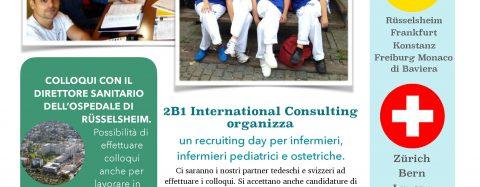 Recruiting Day: Infermieri, infermieri pediatrici e ostetriche