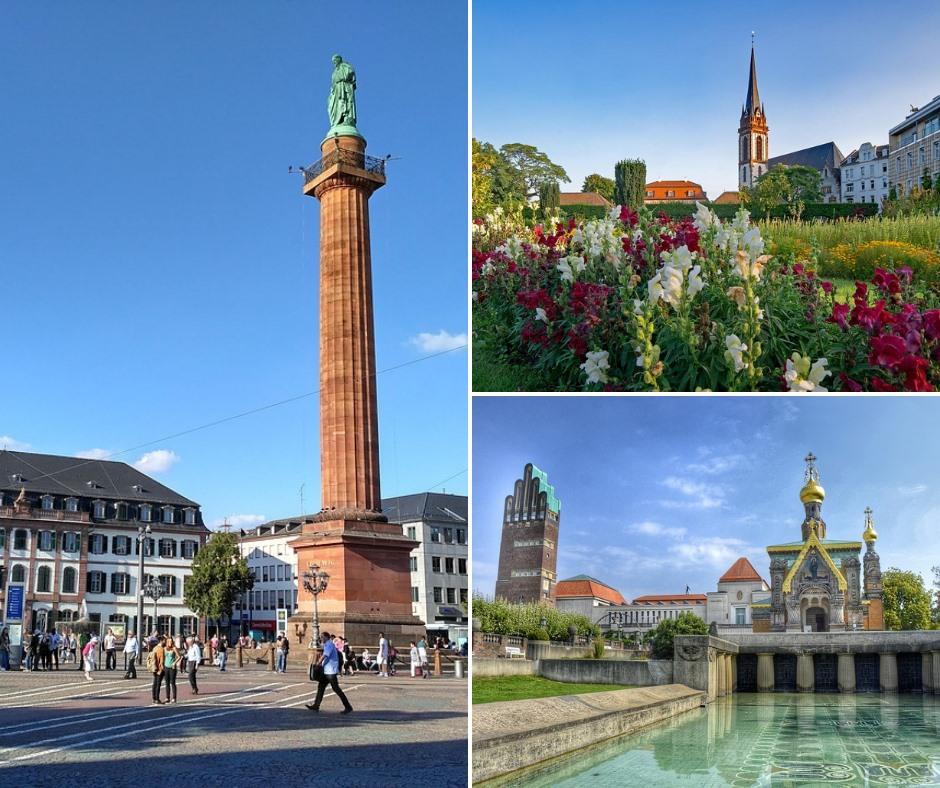 Darmstadt: la città della scienza