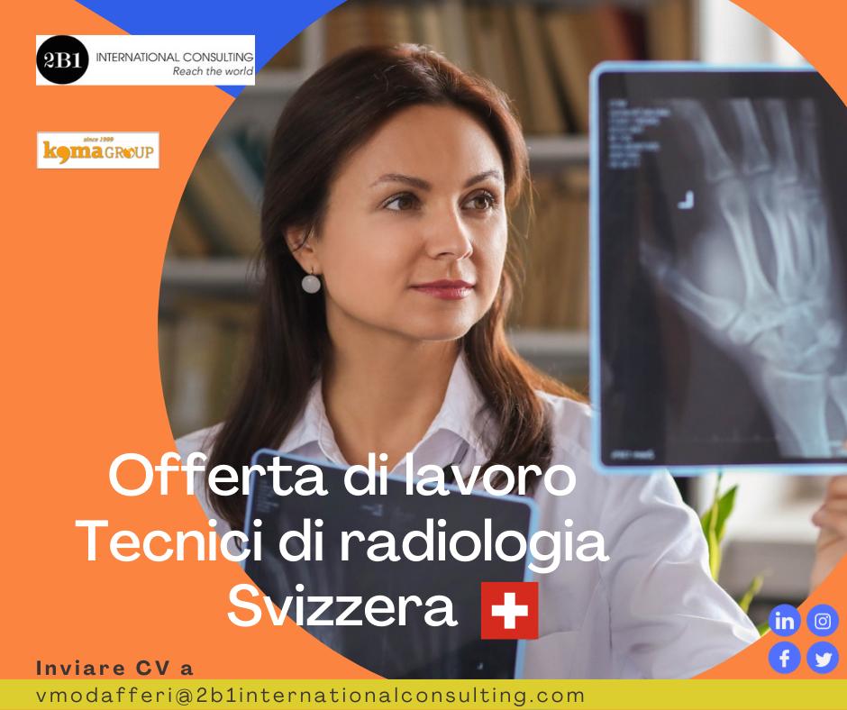 Tecnici di radiologia per clinica in Svizzera
